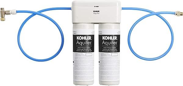 KOHLER 77686 NA Aquifer Double Cartridge Water Filtration System
