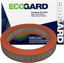 ECOGARD XA16 Premium Engine Air Filter Fits Mazda B2200, B2000 / Honda Accord / Ford Courier / Honda Prelude / Mazda 626, B1600, B1800, 808, Rotary Pickup