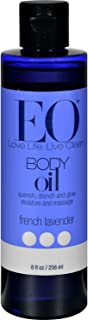 EO Products Everyday French Lavender Body Oil 8 Ounce 3 Per Case. Blue