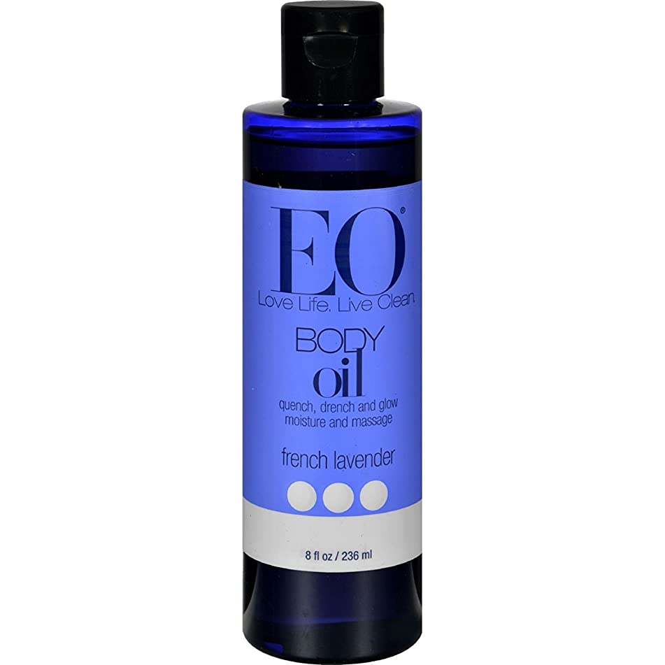 EO Products Everyday French Lavender Body Oil, 8 Ounce - 3 per case.