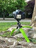 MyGadget Dreibein Kamera Stativ [Klein & Flexibel] Universal Tripod mit