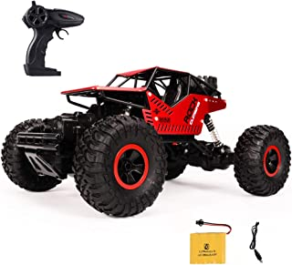 BHAG Toy Remote Control Car 1/16 2.4GHZ 4WD Dual Motors RC Off Road Climbing Car for Kids and Adults