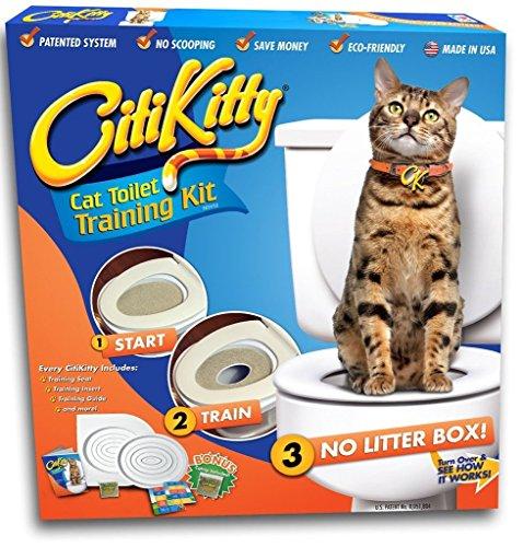 CitiKitty Toiletten Trainings Kit für Katzen