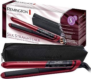 Remington Prostownica Silk (dwuwarstwowa powłoka ceramiczna z proteinami jedwabiu dla jedwabiście gładkich i błyszczących ...