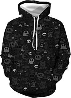 XXLHH Sudadera con Capucha Hombre 3D Impresión Pullover Sudaderas De Tendencia Hoodie Sweatshirt de Mangas Largas Bolsillo...