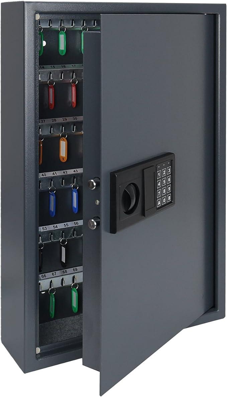 217 opinioni per HMF 2133-11 Cassaforte a Chiave con Serratura Elettronica   132 Ganci   66,5 x