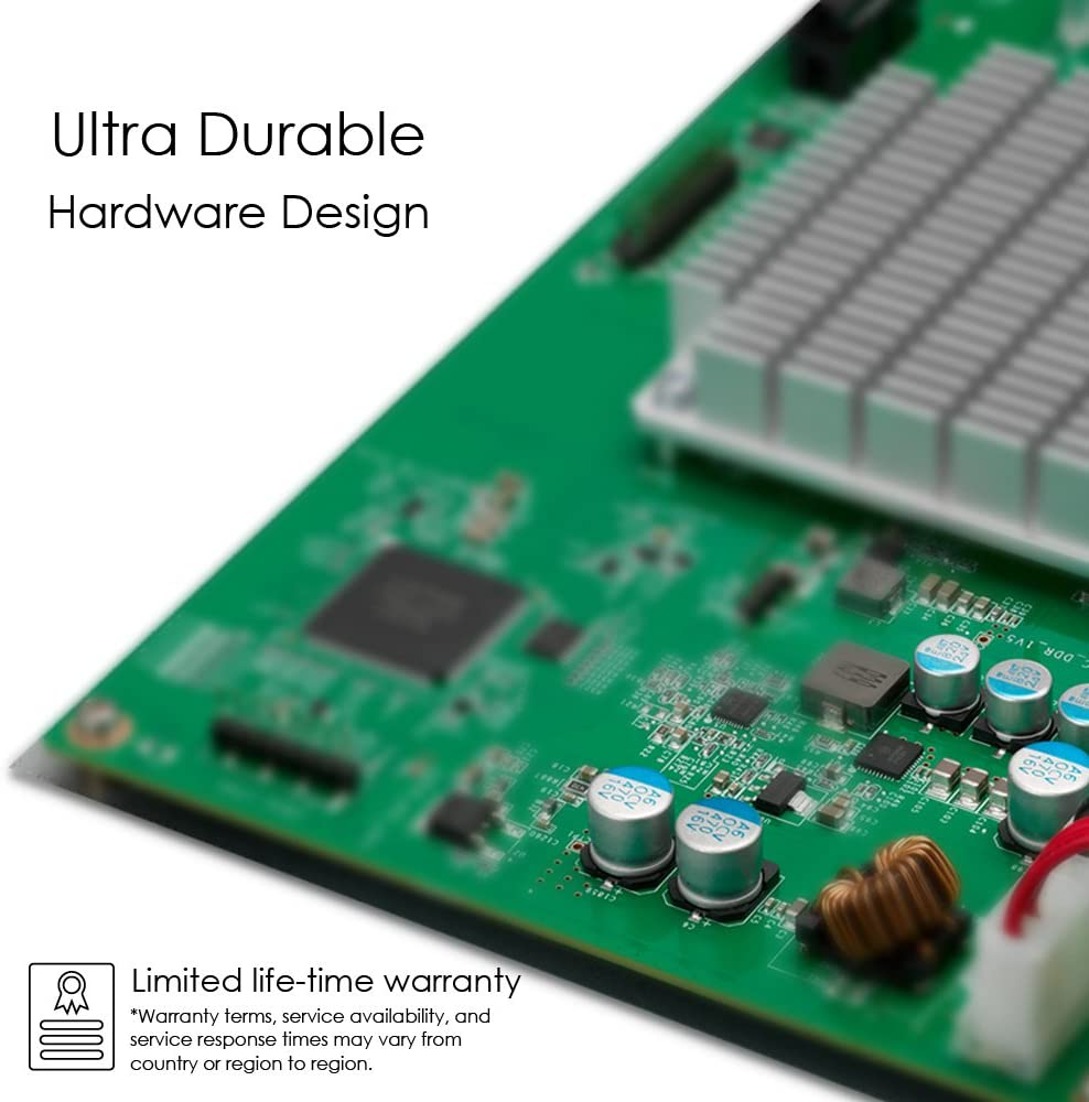 ZyXEL 24-Port Gigabit Ethernet Smart Managed Rackmount Switch - Fanless Design [GS1900-24]