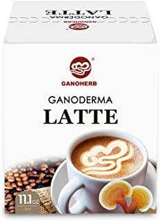 Sponsored Ad - GANOHERB Reshi Mushroom Latte-4 in 1 Instant Coffee with Organic Ganoderma Lucidum Extract -Rich In Taste a...