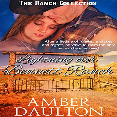 Lightning Over Bennett Ranch audiobook cover art