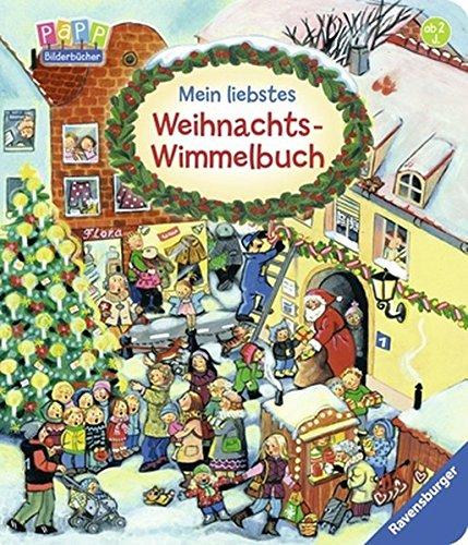 Mein liebstes Weihnachts-Wimmelbuch