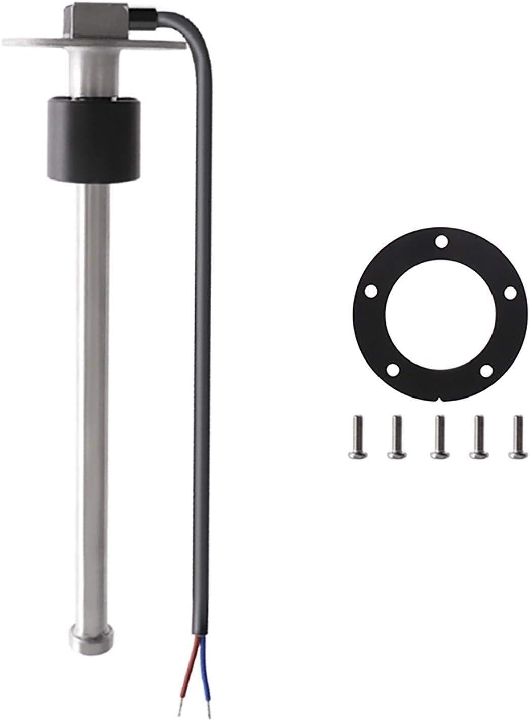KAOLALI Sensor de Nivel de Combustible 0~190 ohm 150MM~1000MM Unidad Receptora de Combustible para Coche Barco, Sensores de Nivel de Agua