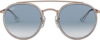 Ray-Ban 0RB3647N 90683F 51 Montures de lunettes, Transparent (Transparente/Clear Gradient Blue), Mixte Adulte