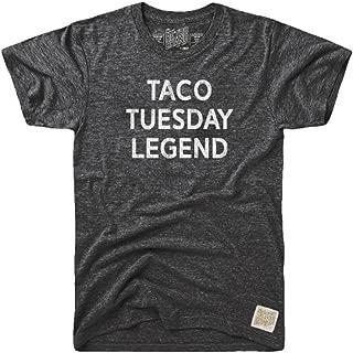 Original Retro Brand The Mens Taco Tuesday Legend Tri-Blend Tee