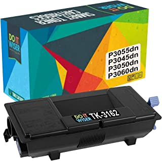 Do it Wiser Compatible Toner Cartridge Replacement for TK-3162 TK3162 Kyocera Ecosys P3055dn P3045dn P3050dn P3060dn | 1T02T90US0 (12,500 Pages)