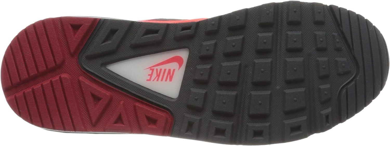 Nike Herren Air Max Command Laufschuhe Schwarz Black Brt Crimson Dk Grey Gym Red White 051