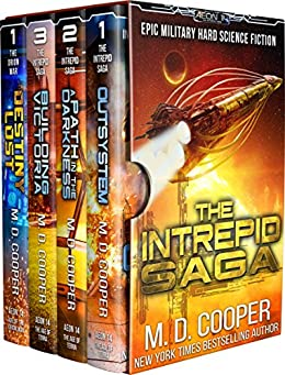 The Complete Intrepid Saga - A Hard Science Fiction Space Opera Epic (Aeon 14 Collection Book 1) by [M. D. Cooper]