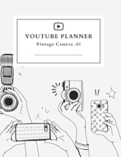 YouTube Planner Notebook: YouTube Notebook Planner, Planner for YouTubers, YouTube Channel Planner, YouTube Journal Planne...