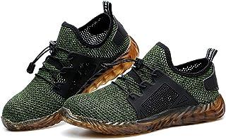 c38c8a1569d104 2019 Chaussure de Sécurité Homme Femme été Baskets Chantiers Industrie  Chaussure de Travail Anti-Perçage