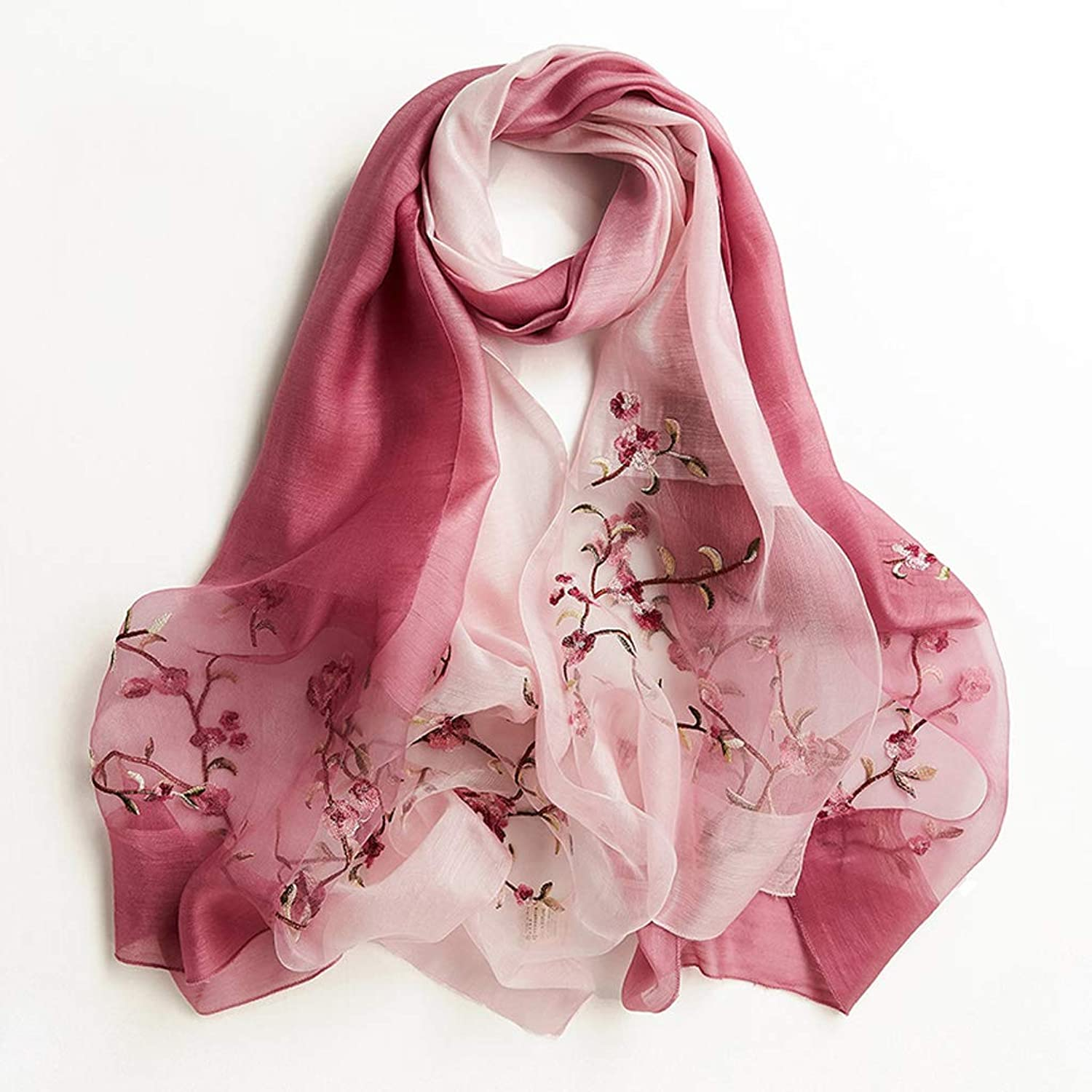 Personality Fashion Autumn Scarf Creative Simple Shawl Exquisite Birthday Gift (color   B)