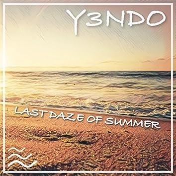 Last Daze of Summer - Single