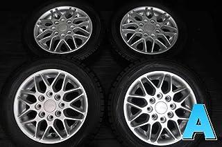 【中古スタッドレスタイヤ】4本セット ダンロップ ウィンターマックス WM01 155/65R13 / ブリヂストン CITTA PCD 110/114.3-4H 13x4.0 45 110/114.3-4穴 ミラ/ムーヴ旧規格軽用 中古タイヤ W13190524902