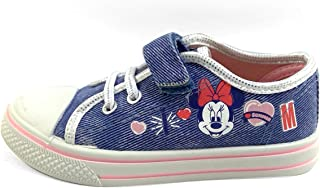 Disney Minnie Mouse Glitter Jeans Girls Sneaker