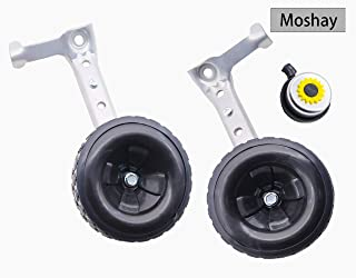 MOSHAY Bicycle Training Wheels Fits 16 18 20 22 24 inch Kids Variable Bike