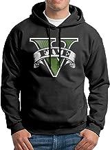 GTA V Grand Theft Auto Five Game Boys Long Sleeve Black Hoodies Outwear Jacket
