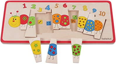 Beleduc Matching Caterpillar Jigsaw Puzzle (10 Piece)