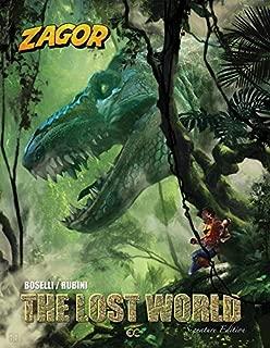 Zagor: The Lost World (Signature Edition, Martinère cover)