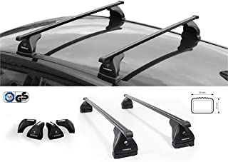 Evos Quadra NORDRIVE TR16ES0015 Dachträger (Stahl schwarz 32 x 22 mm 5 kg)