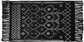 Cotton Area Rugs 2'x3' Bohemia Geometric Floor Mats Carpet Tassels Fringe Throw Rugs for Laundry Kitchen Living Room Bedro...