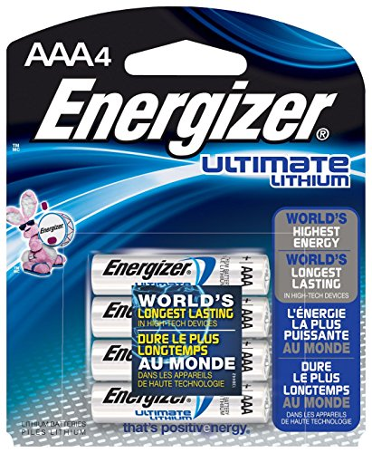Energizer Lithium AAA 4er Pack