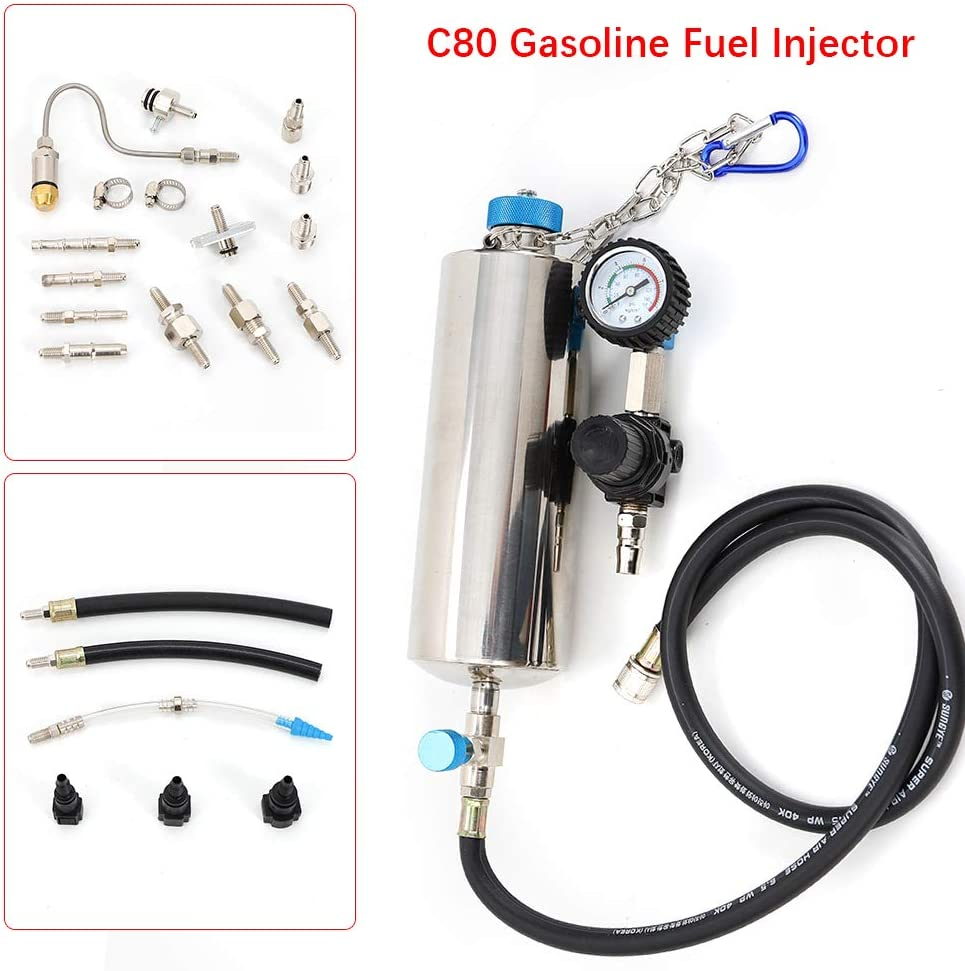 Super-cheap C80 Non-Dismantle Gasoline Auto Fuel Kit Rapid rise and Te Injector Cleaner