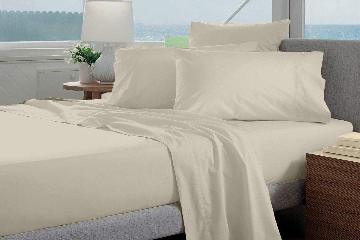 Some reservation VGI Linen 100% Heavy Egyptian Cotton Thread Excellent Count Luxury 6- 1500