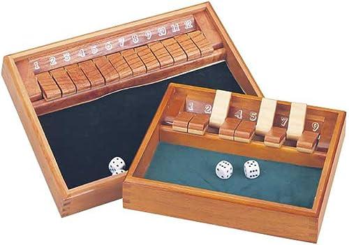 venta Deluxe Shut The Box with 12 12 12 Numbers & Dice by CHH  Ven a elegir tu propio estilo deportivo.