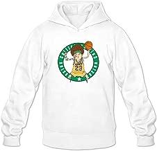 Nets 105 Logo Boston Celtics 111 Hoodie Sweatshirt Men's White