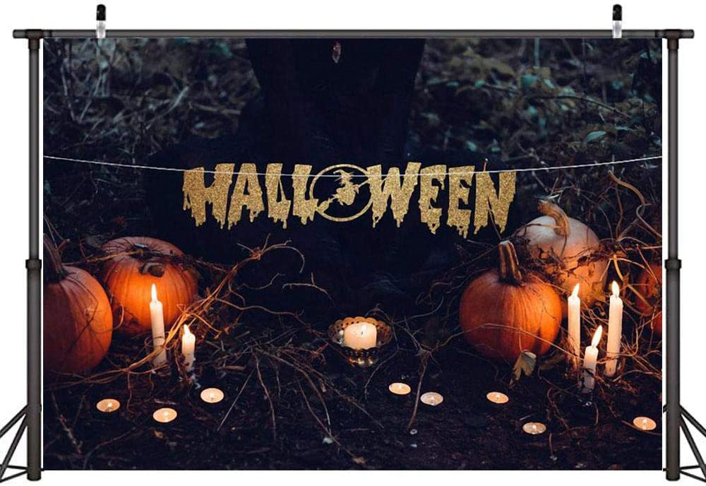 Fall Wooden Pumpkin Maple Leaves Photo Backdrop for Photography Prop Halloween Photo Booth Background 300x200cm 10x6.5ft