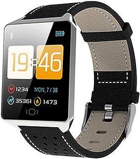 FUN+Smartwatch Relojes Inteligentes Rastreadores De Ejercicios Reloj De Podómetro Rastreador De Actividad, Frecuencia Cardíaca Presión Arterial Monitor De Sueño Calorías Contador De Pasos Impermeable