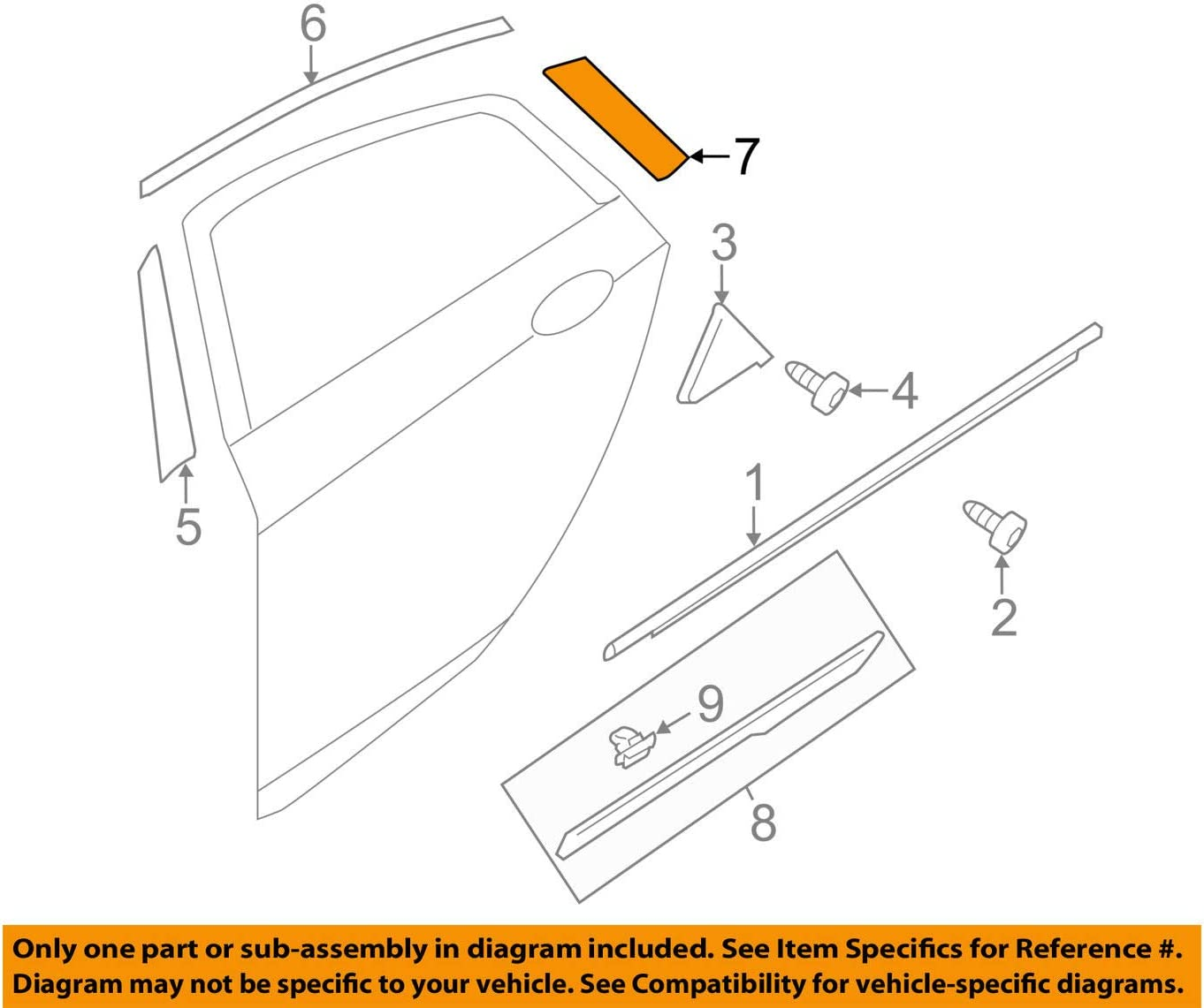 Genuine Hyundai Max 83% High quality new OFF 86383-3S010 Frame Door Tape