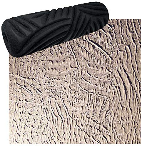 Drywall Texture Pattern Roller for Decorative Paint Texturing - Basket Weave Style