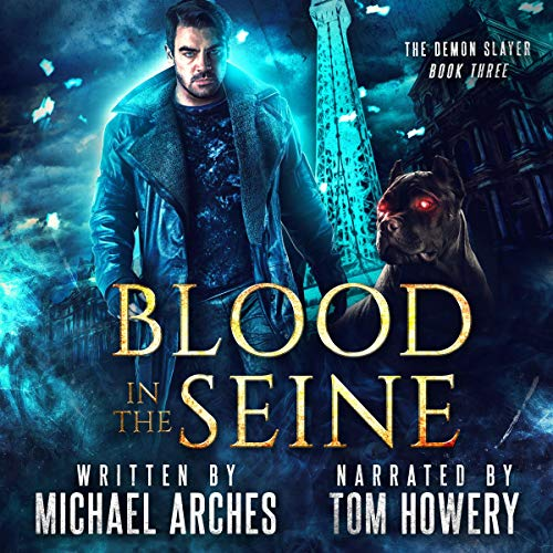 Blood in the Seine  audiobook cover art