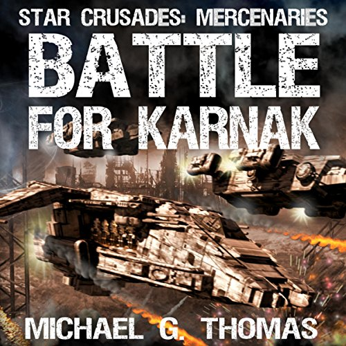 Battle for Karnak audiobook cover art