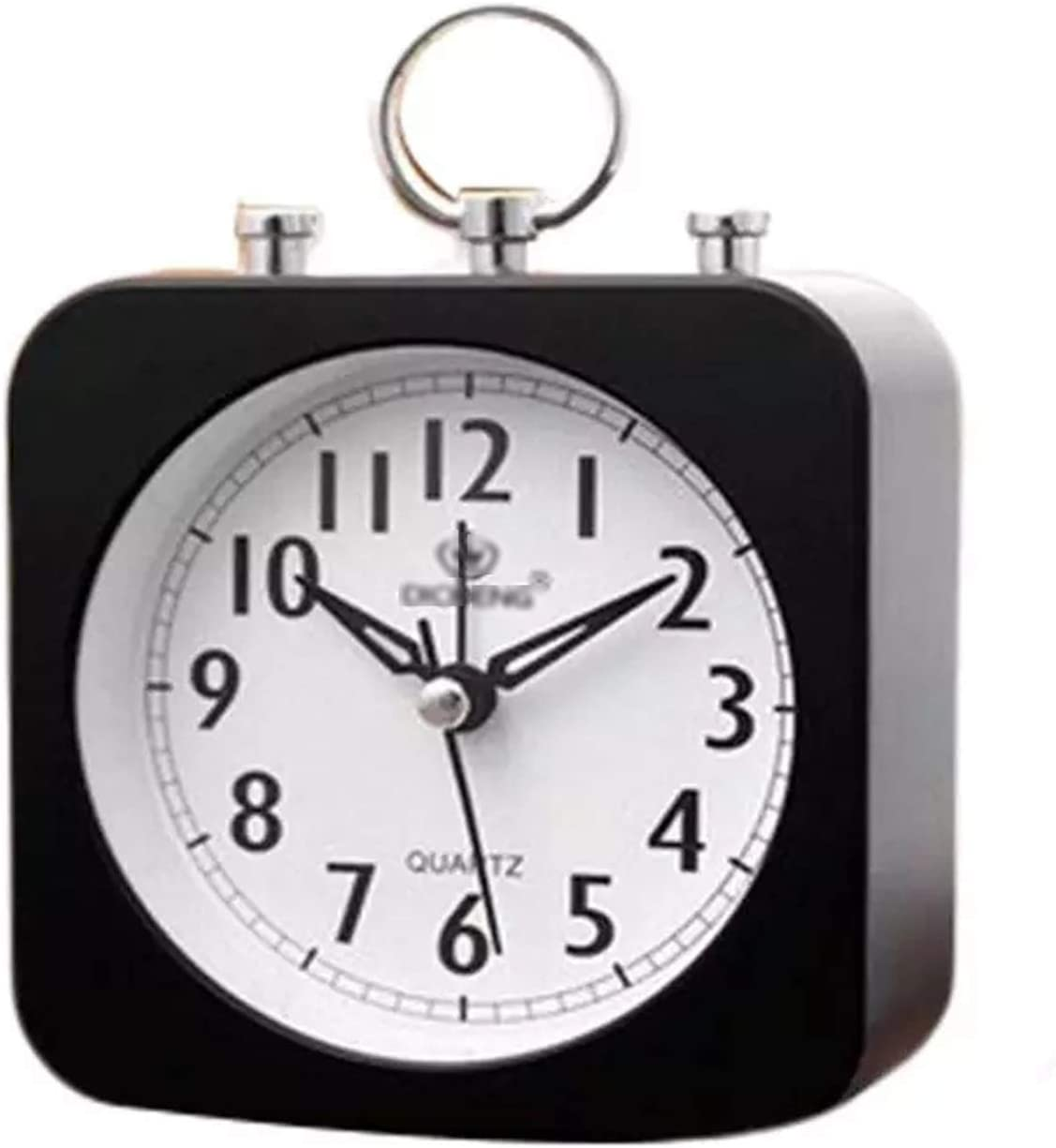 YUXI8541NO High material OFFicial mail order Alarm Clock Silent Ticking Deck Non