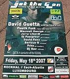 David Guetta, 60 x 80 cm) Kunstdruck/Poster