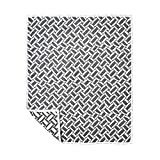 [10mois(ディモワ)] ふくふくガーゼ(6重ガーゼ)ケット コットン100% かごめ ブラック Mサイズ 90×110cm 19171012