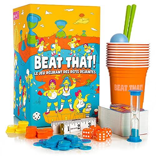 Beat That! - Le Jeu Délirant des Défis Déjantés - 160 Défis à Relever en Famille ou Entre Amis - Nouveau Jeu d'Ambiance pour Enfants et Adultes