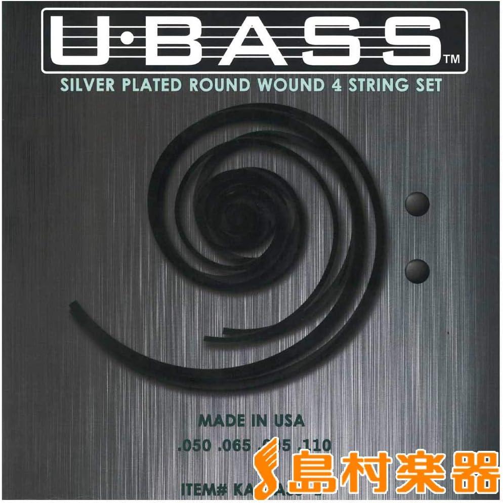 Kala KA-BASS-4 Metal Round Ranking TOP17 Strings U-Bass Wound Free shipping