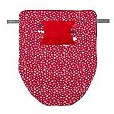 Cheeky Chompers Cheeky–Manta suave manta de forro polar con bolsa de mano...