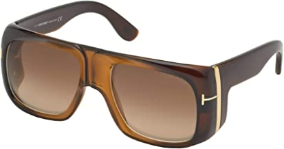 Tom Ford GINO FT 0733 BROWN/LIGHT BROWN SHADED 60/19/135 men Sunglasses